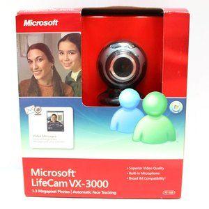 Microsoft LifeCam 4X-3000 1.3 MP Webcam Zoom Calls